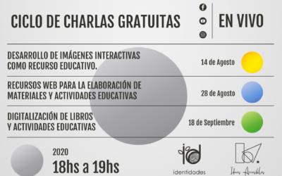 """Ciclo de Charlas """" Repensar las prácticas profesionales mediadas por la virtualidad"""""""